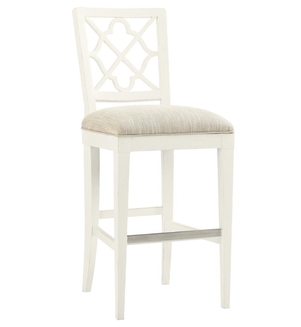 Ivory Key <b> Customizable </b> Newstead Bar Stool by Tommy Bahama Home at Baer's Furniture