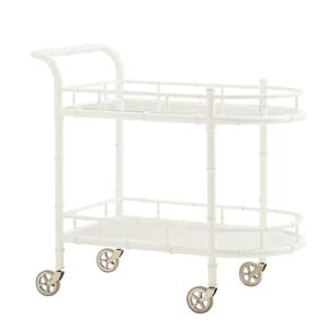 Tommy Bahama Home Ivory Key Warwick Tea Cart
