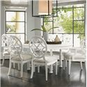Tommy Bahama Home Ivory Key 7 Piece Table and Chair Set - Item Number: 543-875C+2x881+4x880