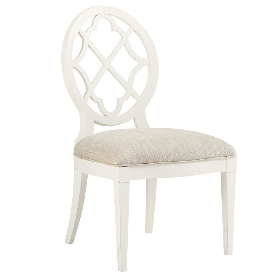 Ivory Key <b> Customizable </b> Mill Creek Side Chair by Tommy Bahama Home at Baer's Furniture