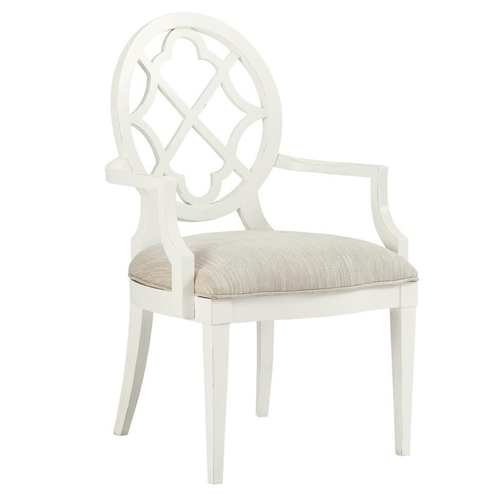 Ivory Key <b>Quickship </b> Mill Creek Arm Chair by Tommy Bahama Home at Baer's Furniture