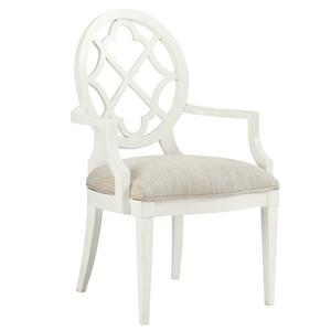 Tommy Bahama Home Ivory Key <b> Customizable </b>Mill Creek Arm Chair