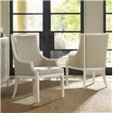 Tommy Bahama Home Ivory Key Gibbs Hill Host Chair