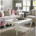 Tommy Bahama Home Ivory Key St. George Rectangular Cocktail Table with Moroccan Style Apron  - Shown with Edgehill Round Lamp Table, Shoal Bay Chair and Swan Island Sofa