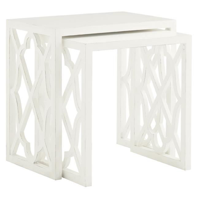 Ivory Key Stovell Ferry Nesting Tables by Tommy Bahama Home at Baer's Furniture