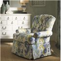 Tommy Bahama Home Ivory Key Long Bay Chair with Tufted Back - Shown with Sandys Mirror and Elbow Beach Dresser