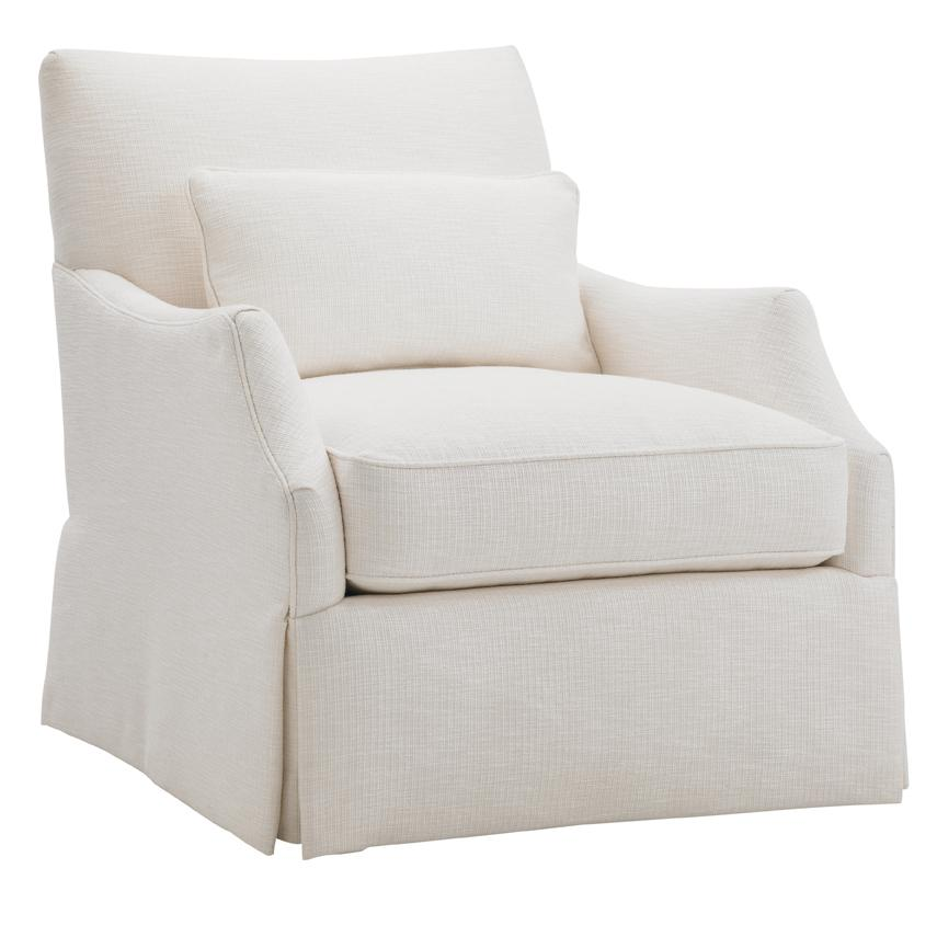 Ivory Key Crystal Caves Chair by Tommy Bahama Home at Baer's Furniture