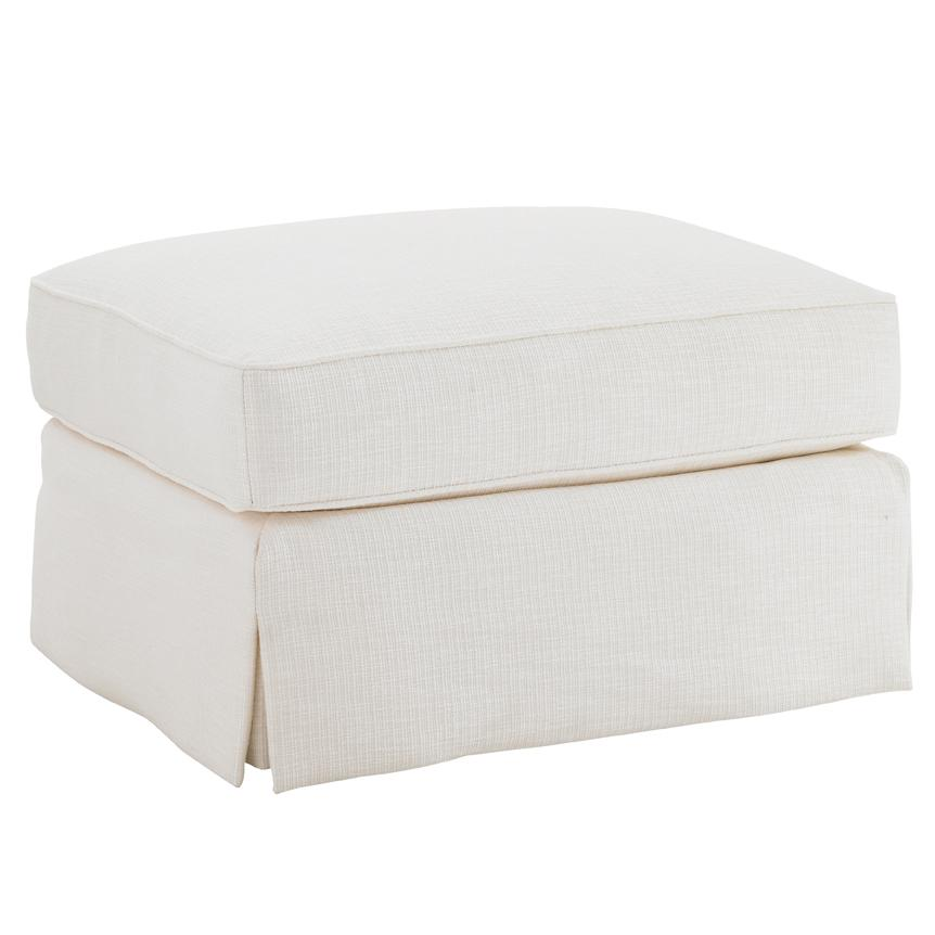 Ivory Key Crystal Caves Ottoman by Tommy Bahama Home at Baer's Furniture