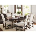 Tommy Bahama Home Kilimanjaro Quickship Cape Verde Upholstered Arm Chair in Clarendon Fabric