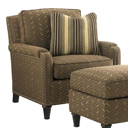 Tommy Bahama Upholstery Bishop Chair by Tommy Bahama Home at Baer's Furniture