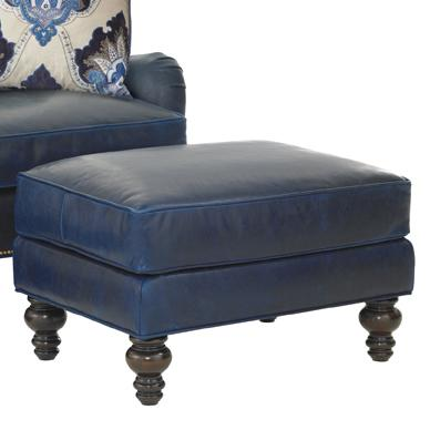 Tommy Bahama Upholstery Amelia Ottoman by Tommy Bahama Home at Baer's Furniture