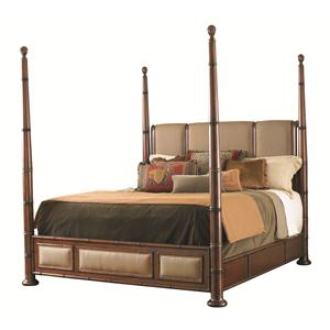 Tommy Bahama Home Landara Queen Monarch Bay Poster Bed