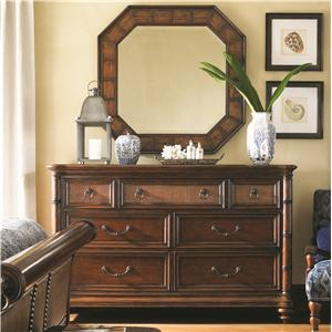 Tommy Bahama Home Landara Sailfish Point Dresser and Cape Coral Mirror