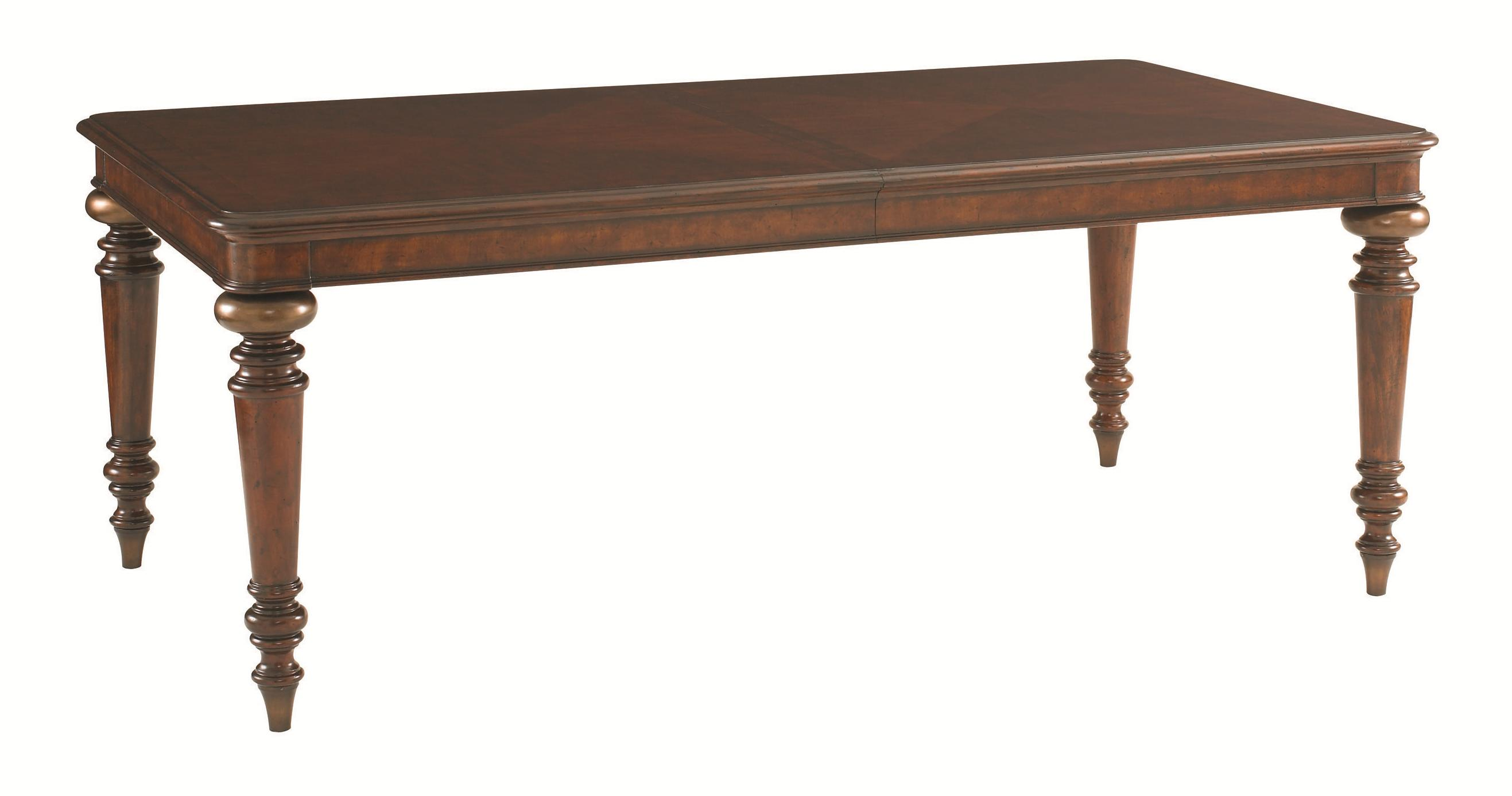 Tommy Bahama Home Landara Pelican Hill Rectangular Dining Table - Item Number: 545-877