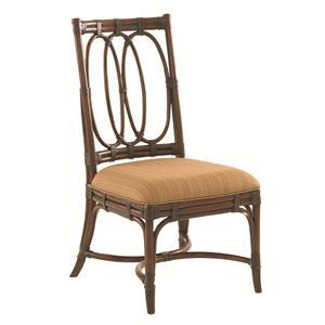 Tommy Bahama Home Landara Palmetto <b> Quickship </b> Side Chair