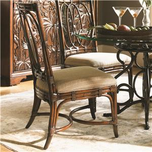 Tommy Bahama Home Landara Palmetto <b> Custom </b> Side Chair