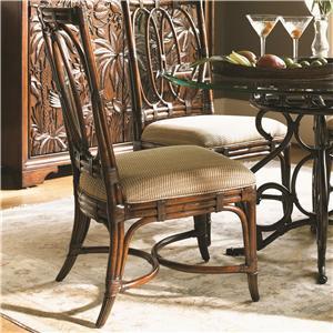 Tommy Bahama Home Landara Palmetto <b> Custom </b> Side Chair