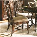 Tommy Bahama Home Landara Palmetto <b> Custom </b> Side Chair - Item Number: 545-880
