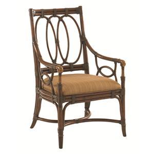 Tommy Bahama Home Landara Palmetto <b> Quickship </b> Arm Chair