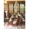Tommy Bahama Home Landara Royal Palm Quickship Upholstered Arm Chair in Seabrook Fabric