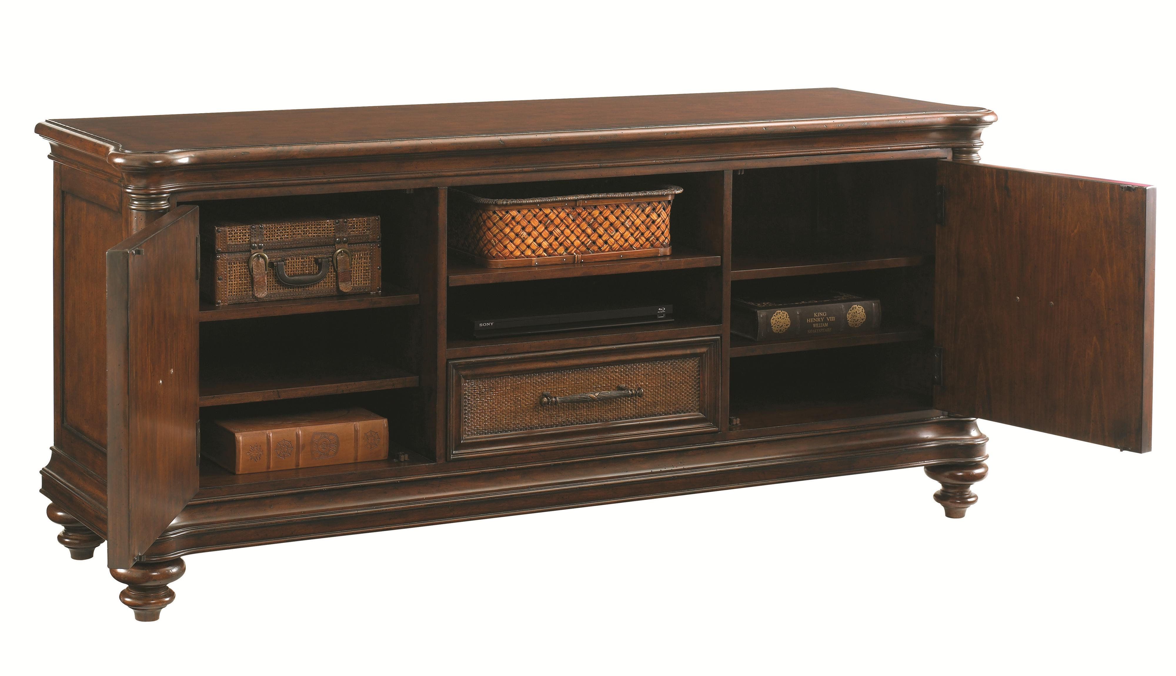 Tommy Bahama Home Landara Cobia Media Console with Wire ...