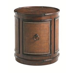 Tommy Bahama Home Landara Sandpiper Round Lamp Table
