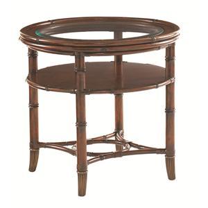 Tommy Bahama Home Landara Maricopa Round Lamp Table