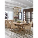 Tommy Bahama Home Los Altos Formal Dining Group - Item Number: 566 Dining Room Group 1