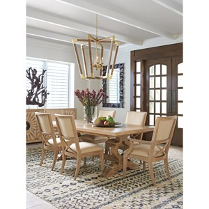 Tommy Bahama Home Los Altos Formal Dining Group