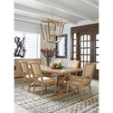 Tommy Bahama Home Los Altos Formal Dining Group - Item Number: 566 Dining Room Group 2
