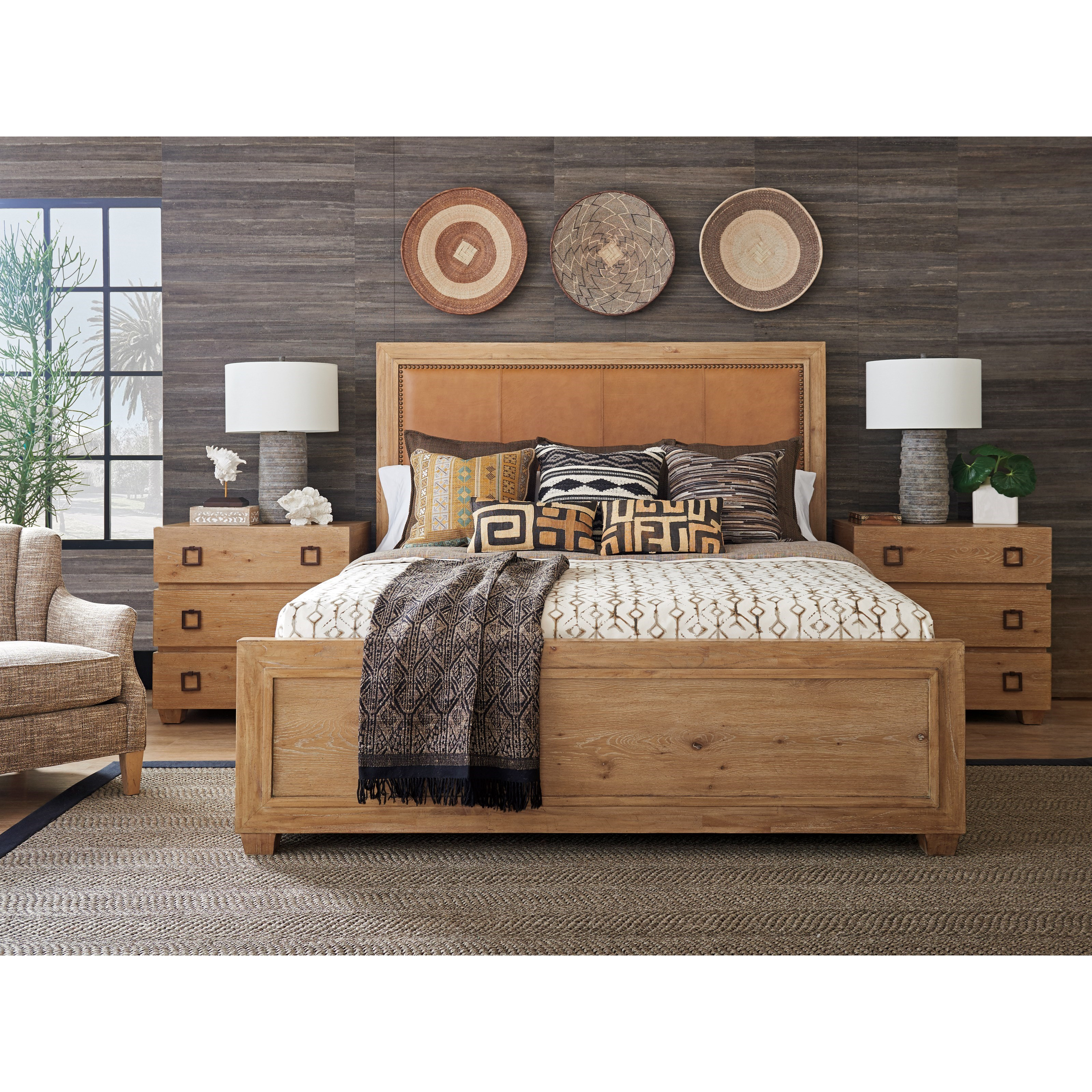 Los Altos Queen Bedroom Group by Tommy Bahama Home at Baer's Furniture