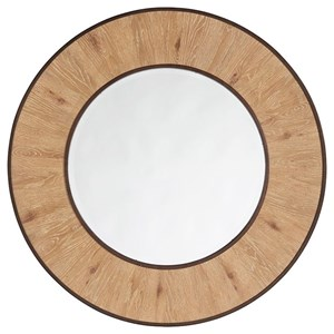 Tommy Bahama Home Los Altos Carins Round Mirror