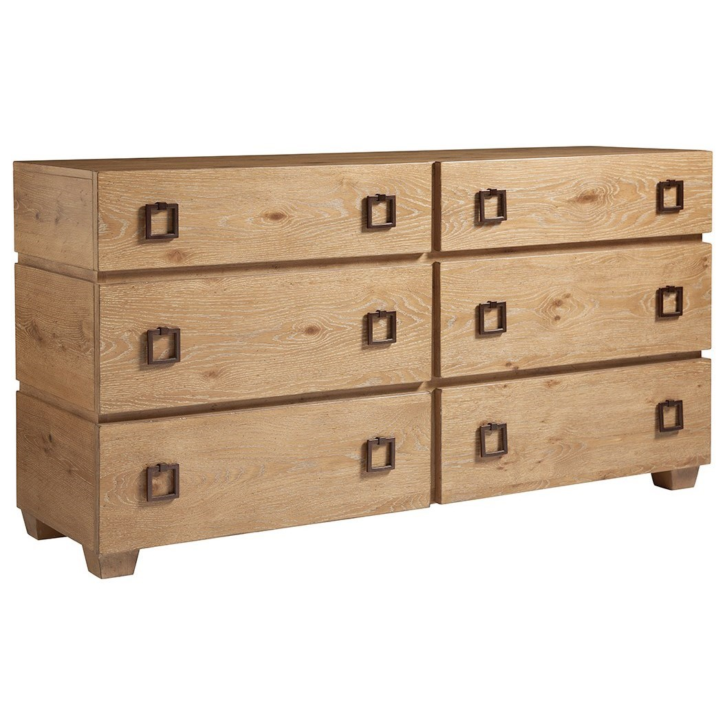 Los Altos Armiston Double Dresser by Tommy Bahama Home at Baer's Furniture