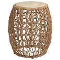 Tommy Bahama Home Los Altos Madrid Woven Accent Table - Item Number: 566-954
