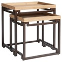 Tommy Bahama Home Los Altos Dolca Vita Nesting Tables - Item Number: 566-958