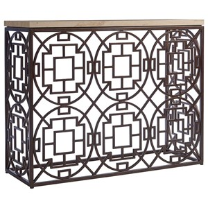 Tommy Bahama Home Los Altos Ackermann Metal Console