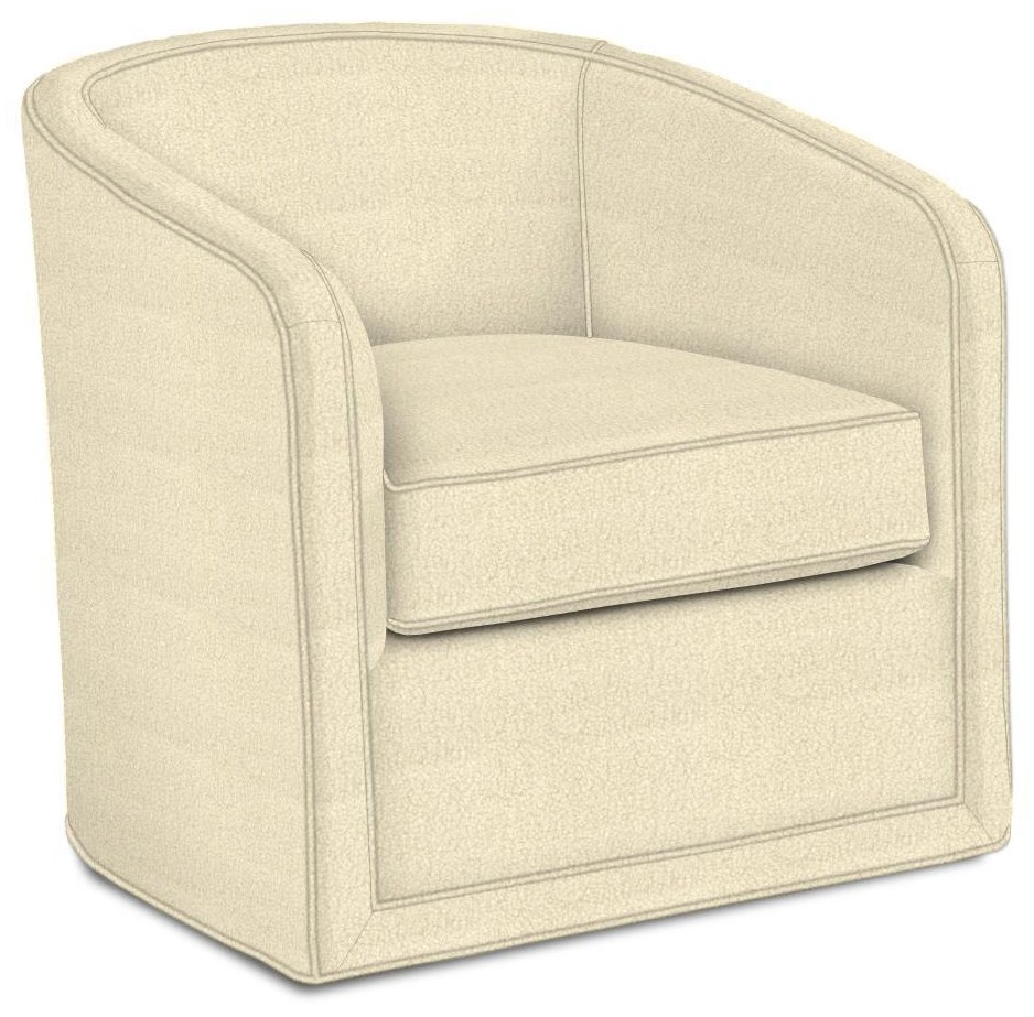 Los Altos Colton Swivel Chair by Tommy Bahama Home at Johnny Janosik