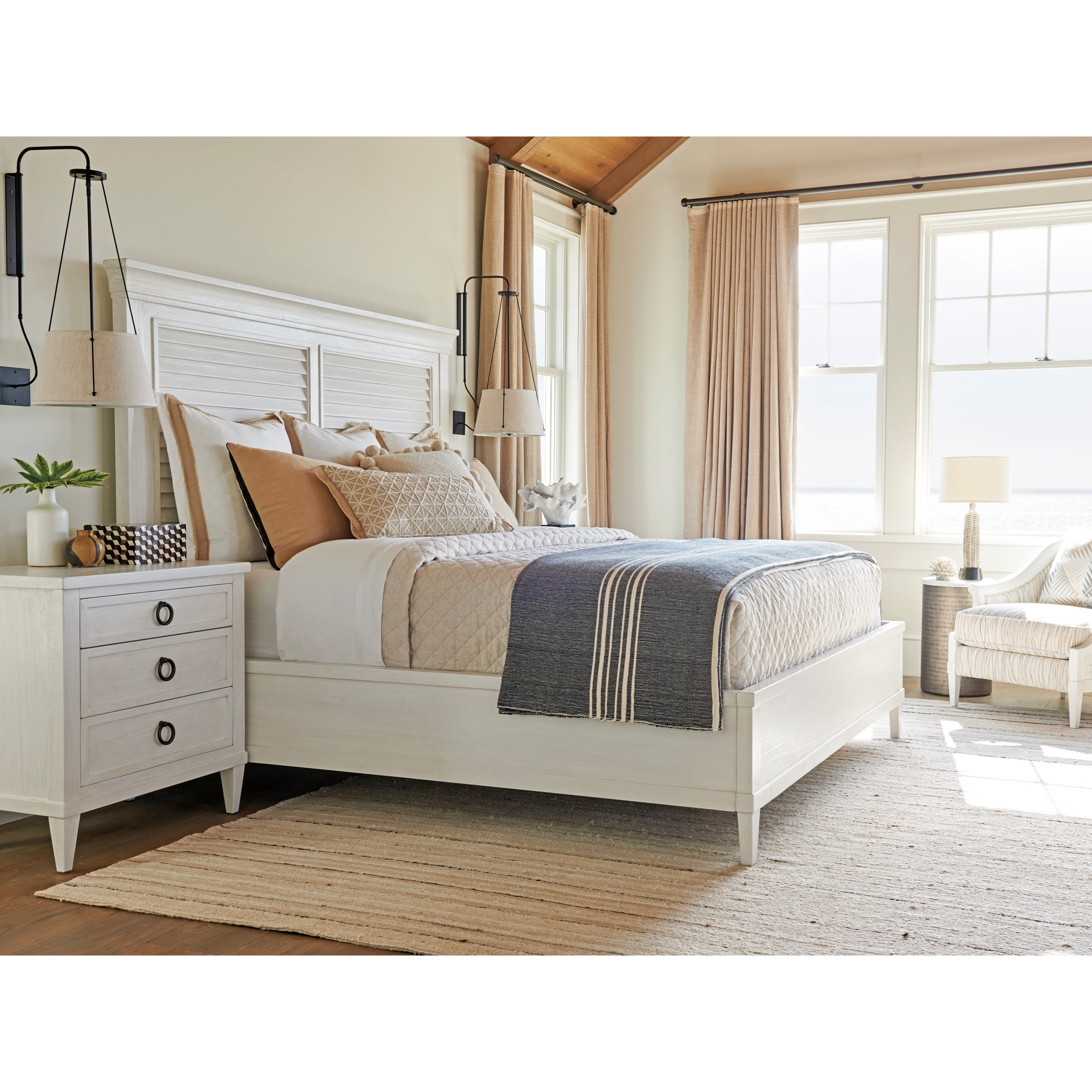 Ocean Breeze Queen Bedroom Group by Tommy Bahama Home at Baer's Furniture
