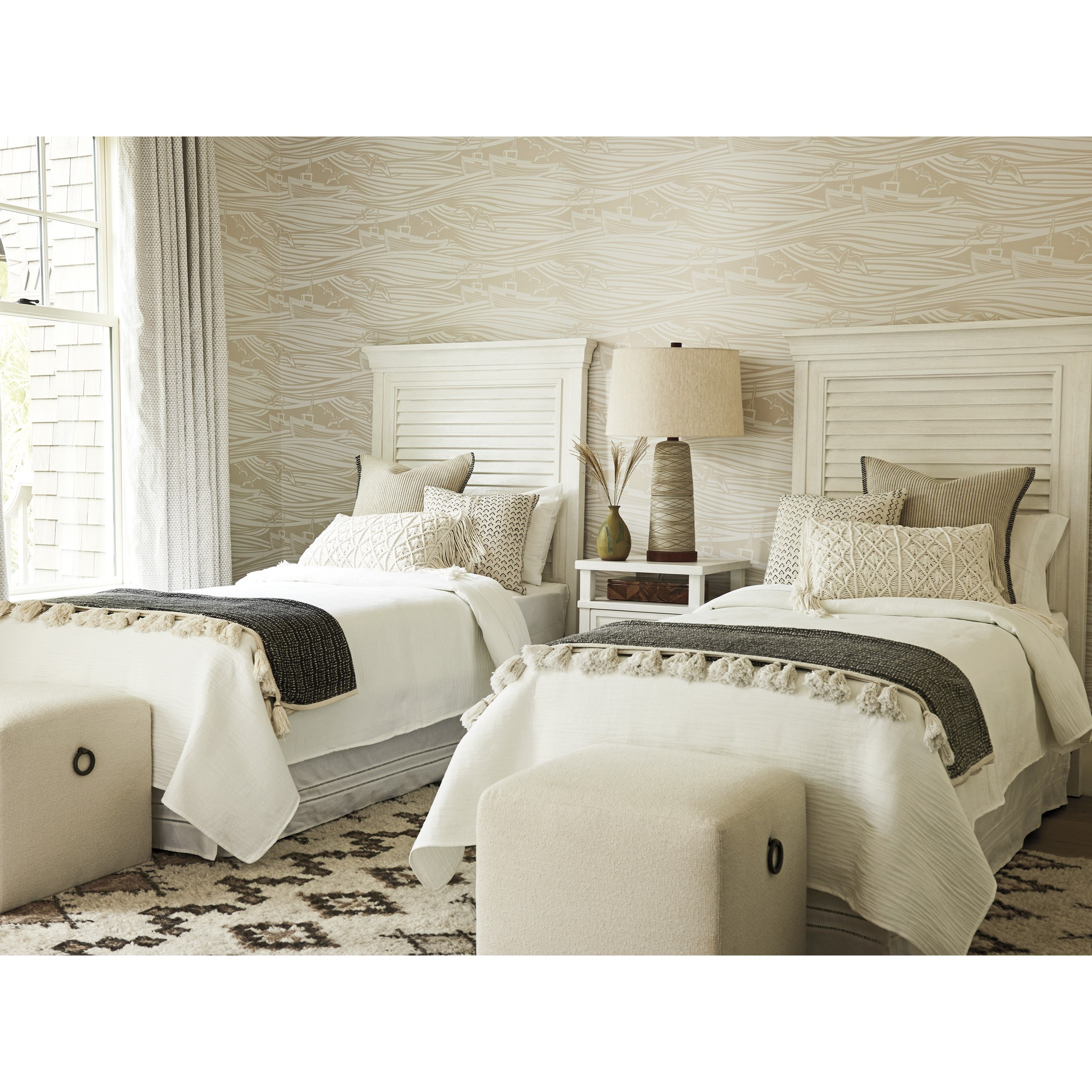 Ocean Breeze Twin Bedroom Group by Tommy Bahama Home at Baer's Furniture