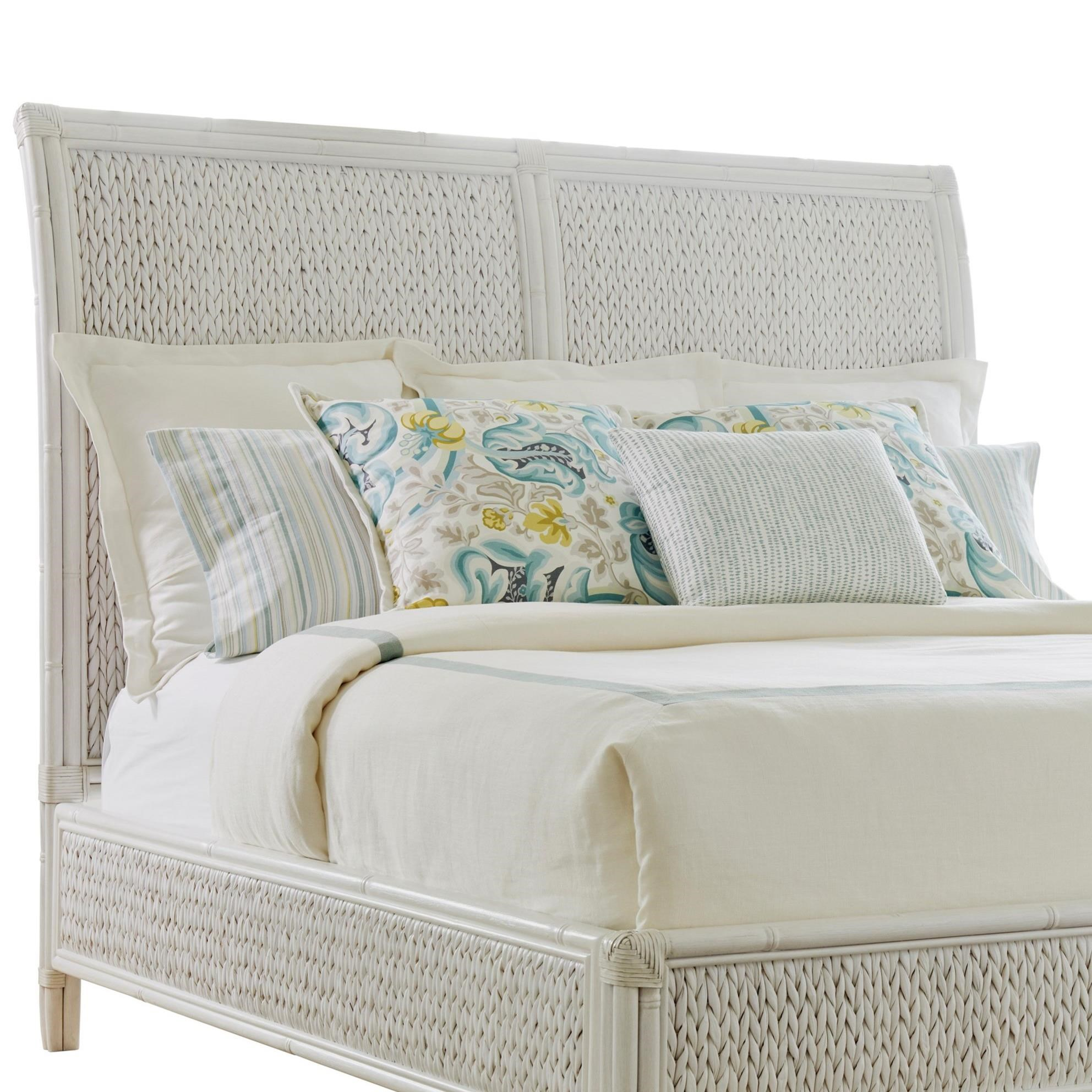 Ocean Breeze Siesta Key Woven Headboard Queen by Tommy Bahama Home at Baer's Furniture