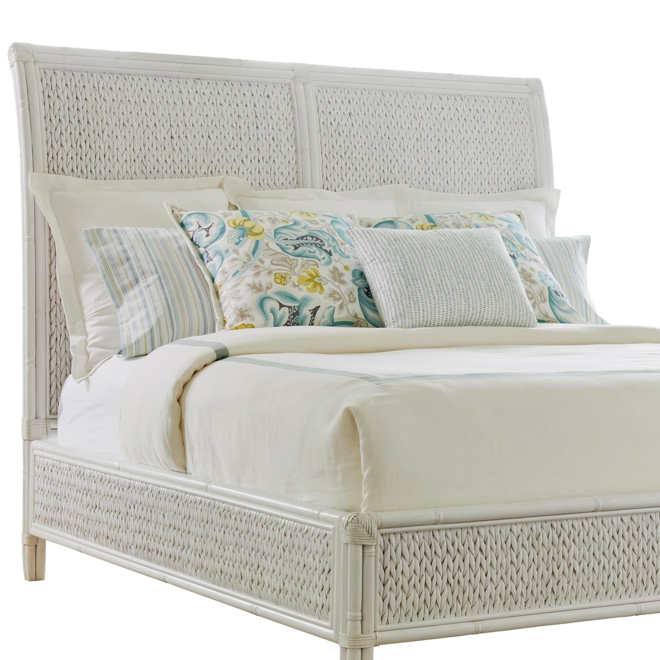 Ocean Breeze Siesta Key Woven Headboard King by Tommy Bahama Home at Baer's Furniture