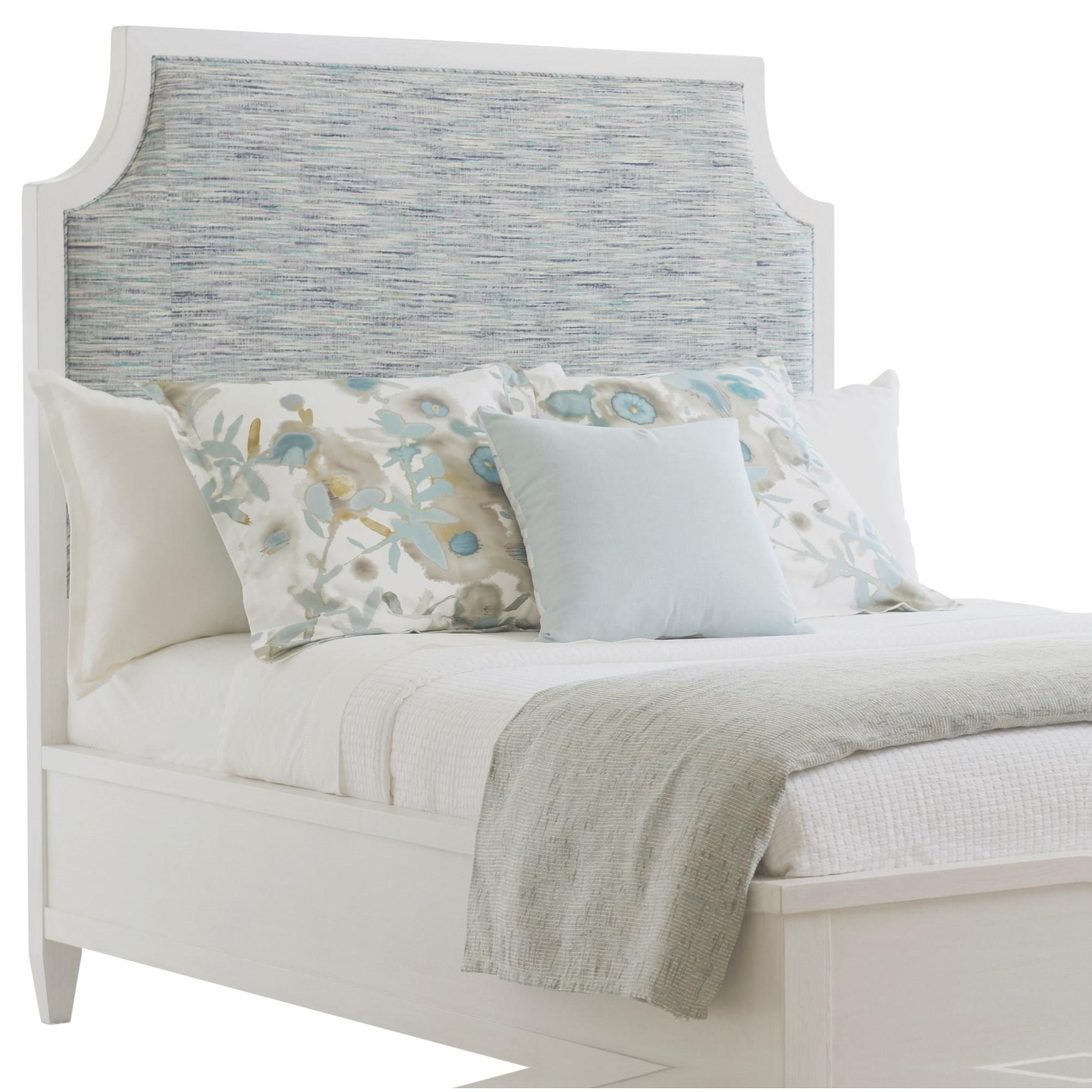 Ocean Breeze Belle Isle Upholstered Headboard King by Tommy Bahama Home at Baer's Furniture