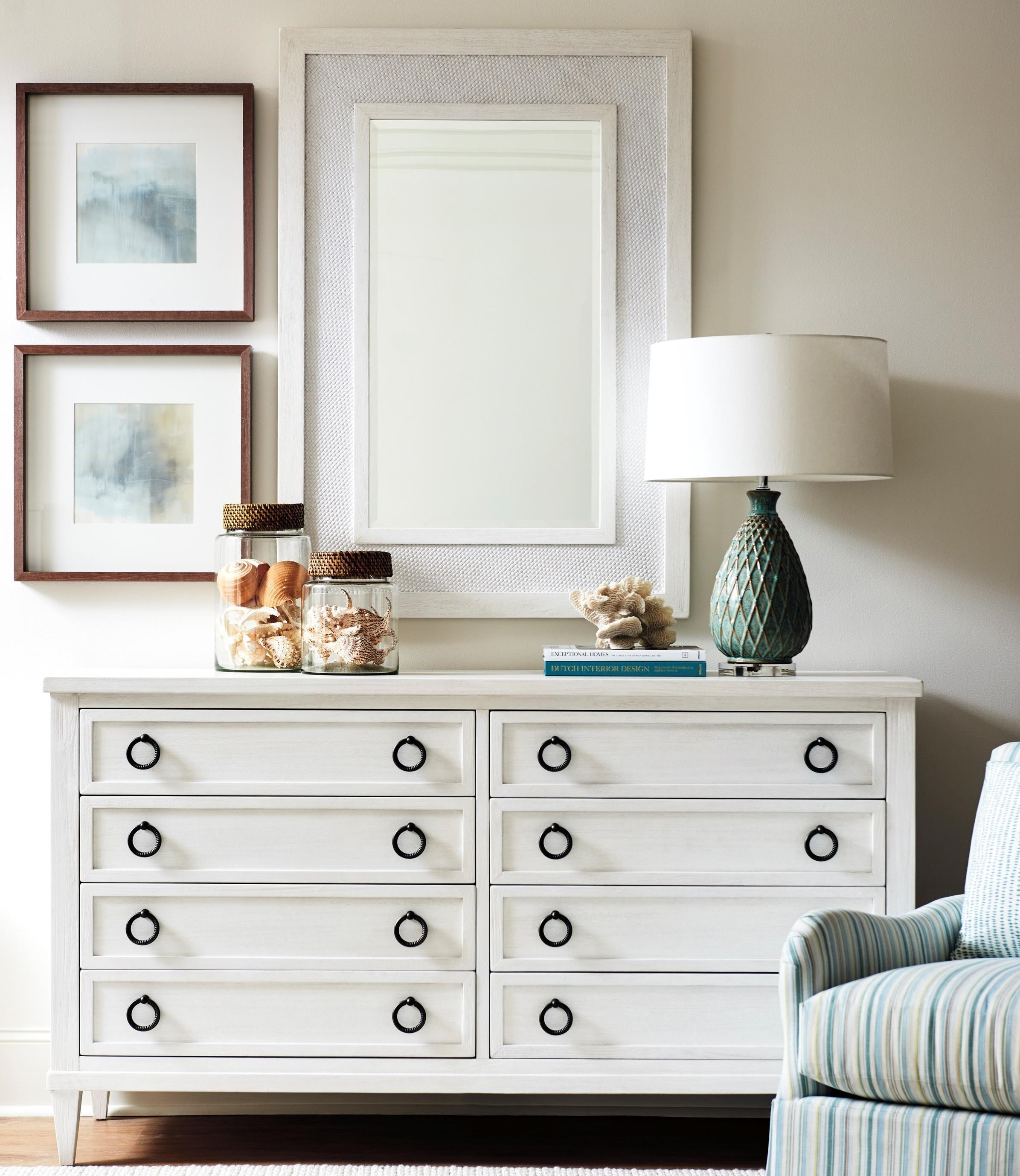Ocean Breeze Dresser + Mirror Set by Tommy Bahama Home at Baer's Furniture
