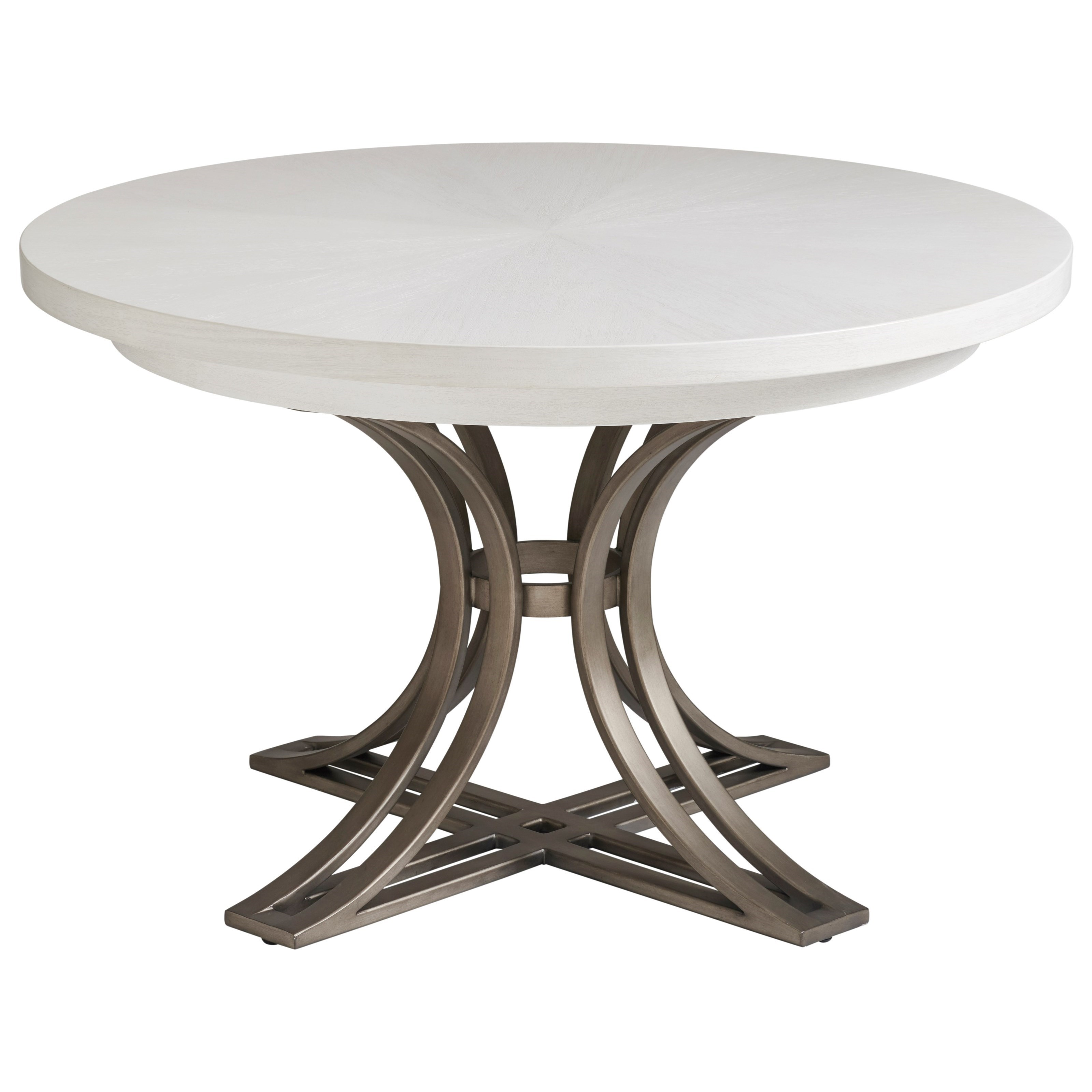 Ocean Breeze Marsh Creek Round Dining Table by Tommy Bahama Home at Baer's Furniture