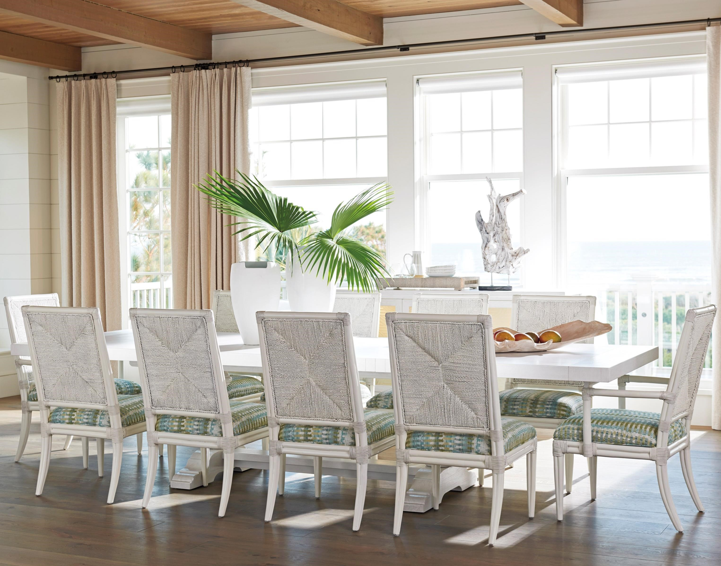 Ocean Breeze 11-Piece Dining Set by Tommy Bahama Home at Baer's Furniture