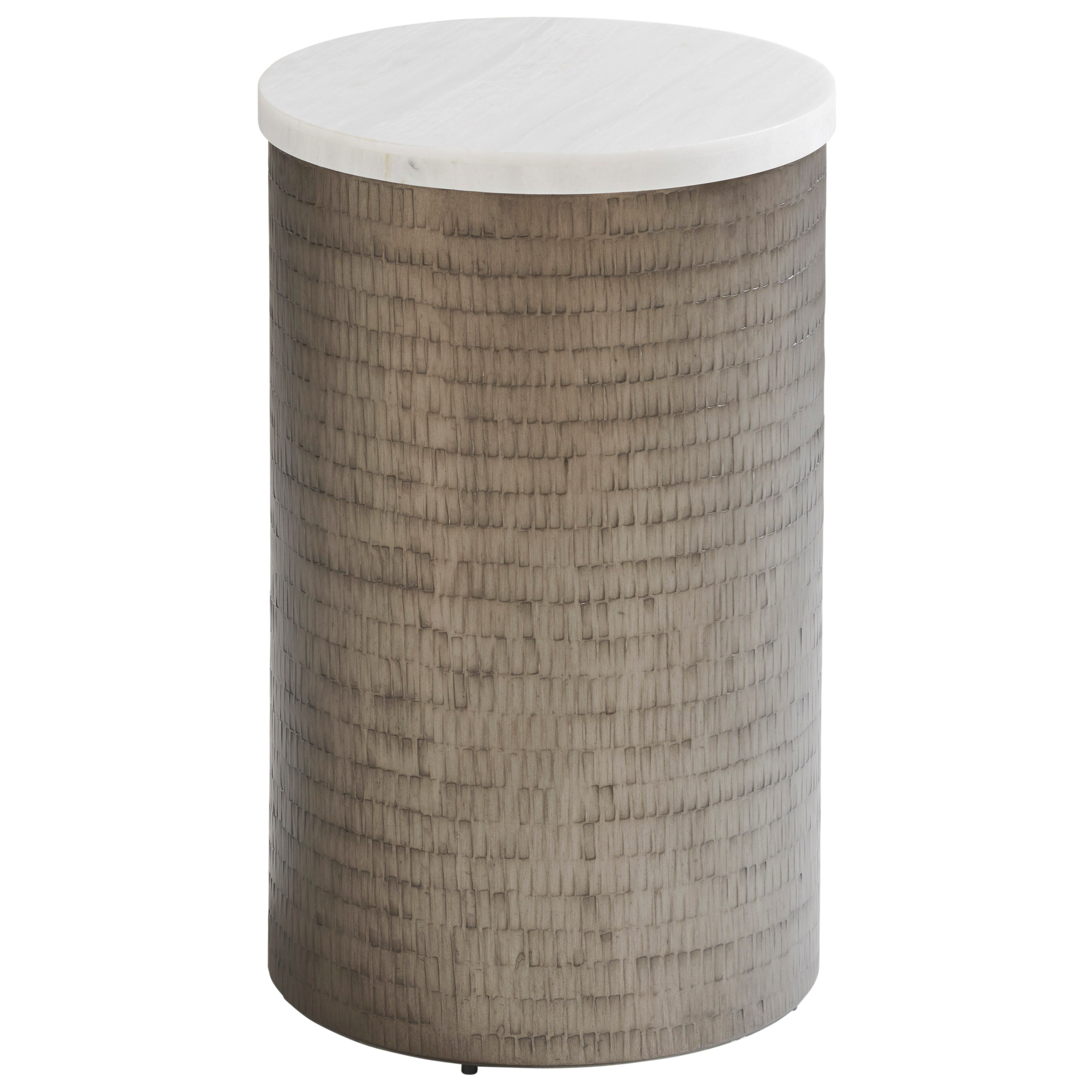 Ocean Breeze Turnberry Round Chairside Table by Tommy Bahama Home at Baer's Furniture