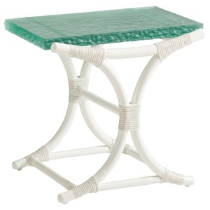 Dania Sea Glass End Table