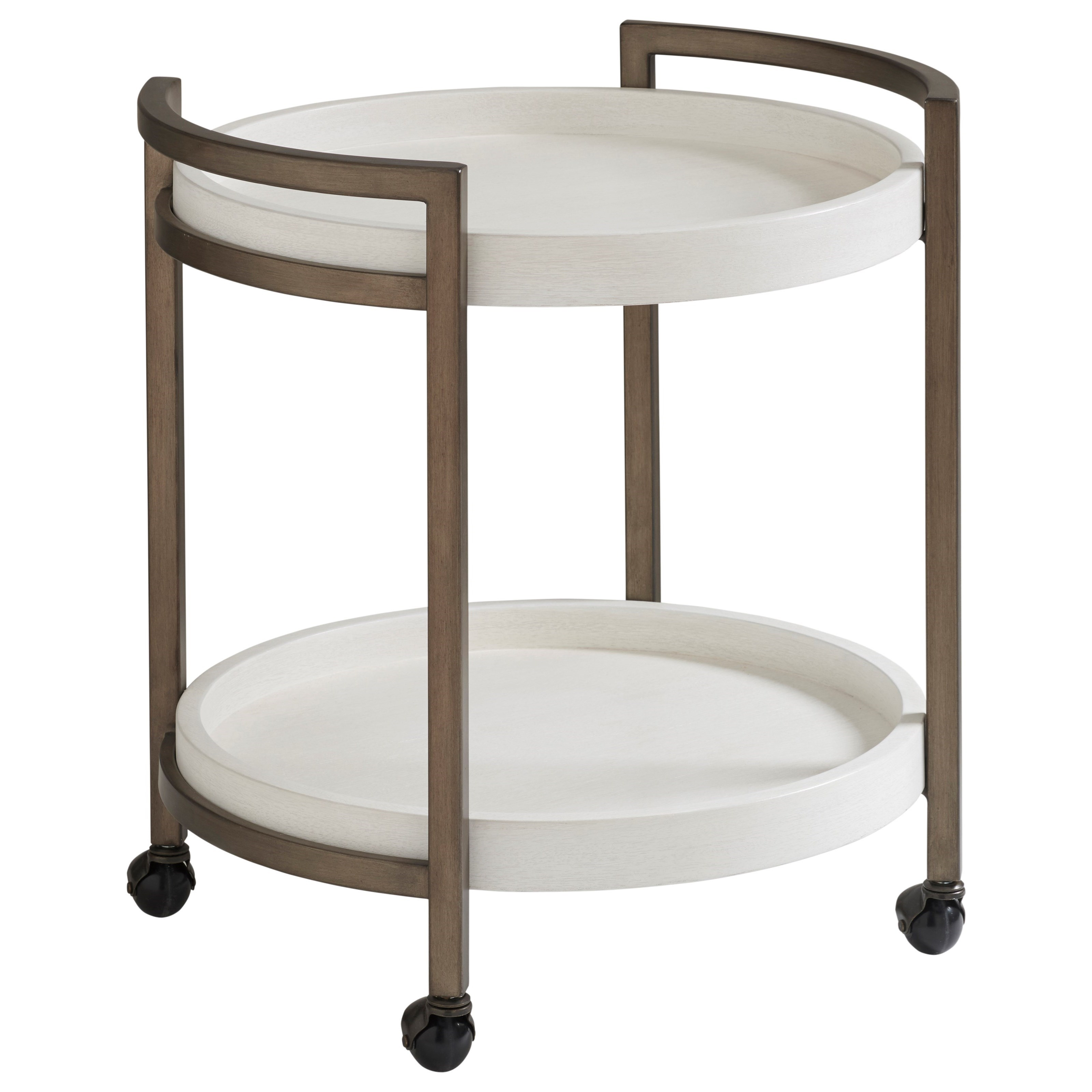 Ocean Breeze Osprey Cart End Table by Tommy Bahama Home at Baer's Furniture