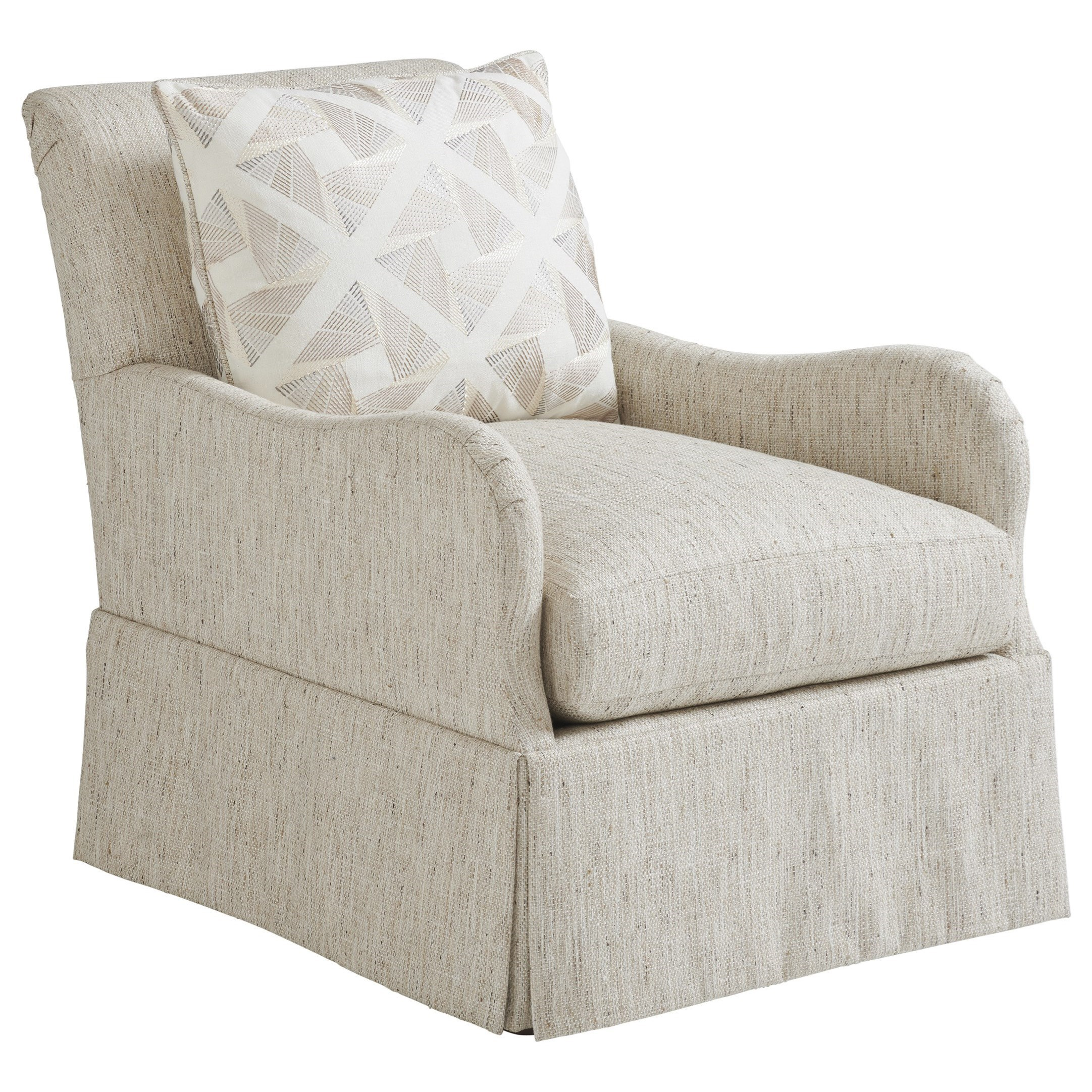 Ocean Breeze Palm Frond Chair by Tommy Bahama Home at Baer's Furniture