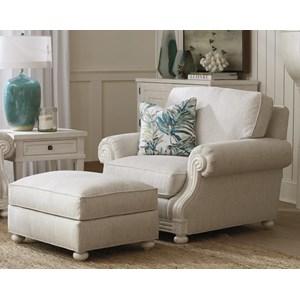 Coral Gables Chair & Ottoman Set